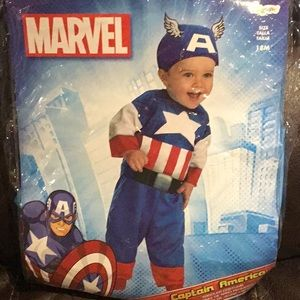 Captain America Costume Size 18 months